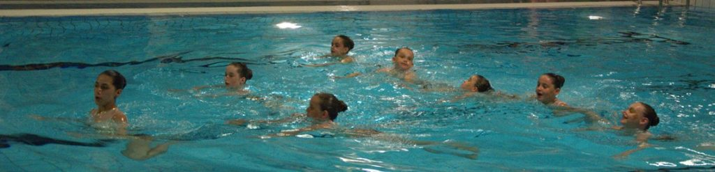 école de natation artistique
